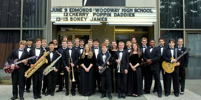 Thank God It's Monday: Edmonds-Woodway High School Jazz Ensembles @ Dimitriou's Jazz Alley
